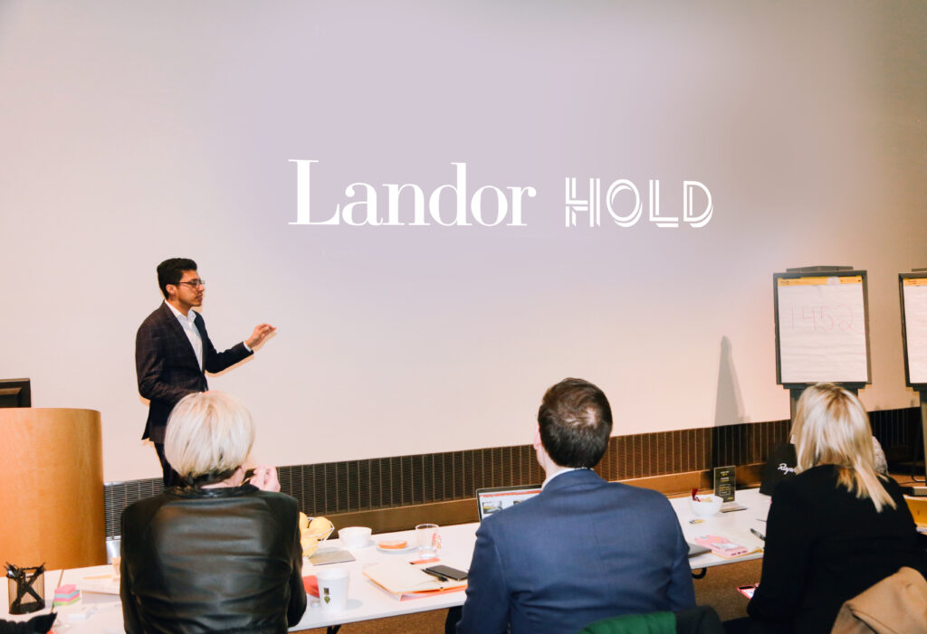 Manil at Landor New York